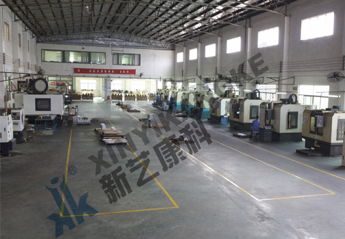 Milling machine shop